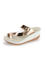 Sole Mio Felisa Wedge Sandal - Front cropped