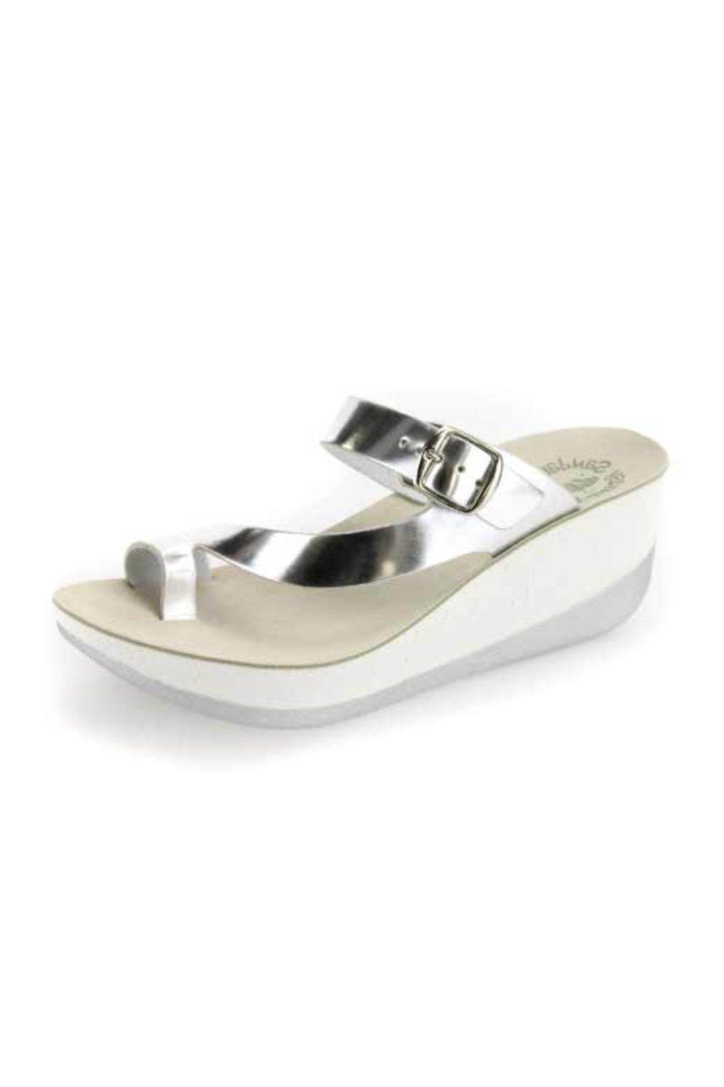 Sole Mio Felisa Wedge Sandal - Front Cropped Image