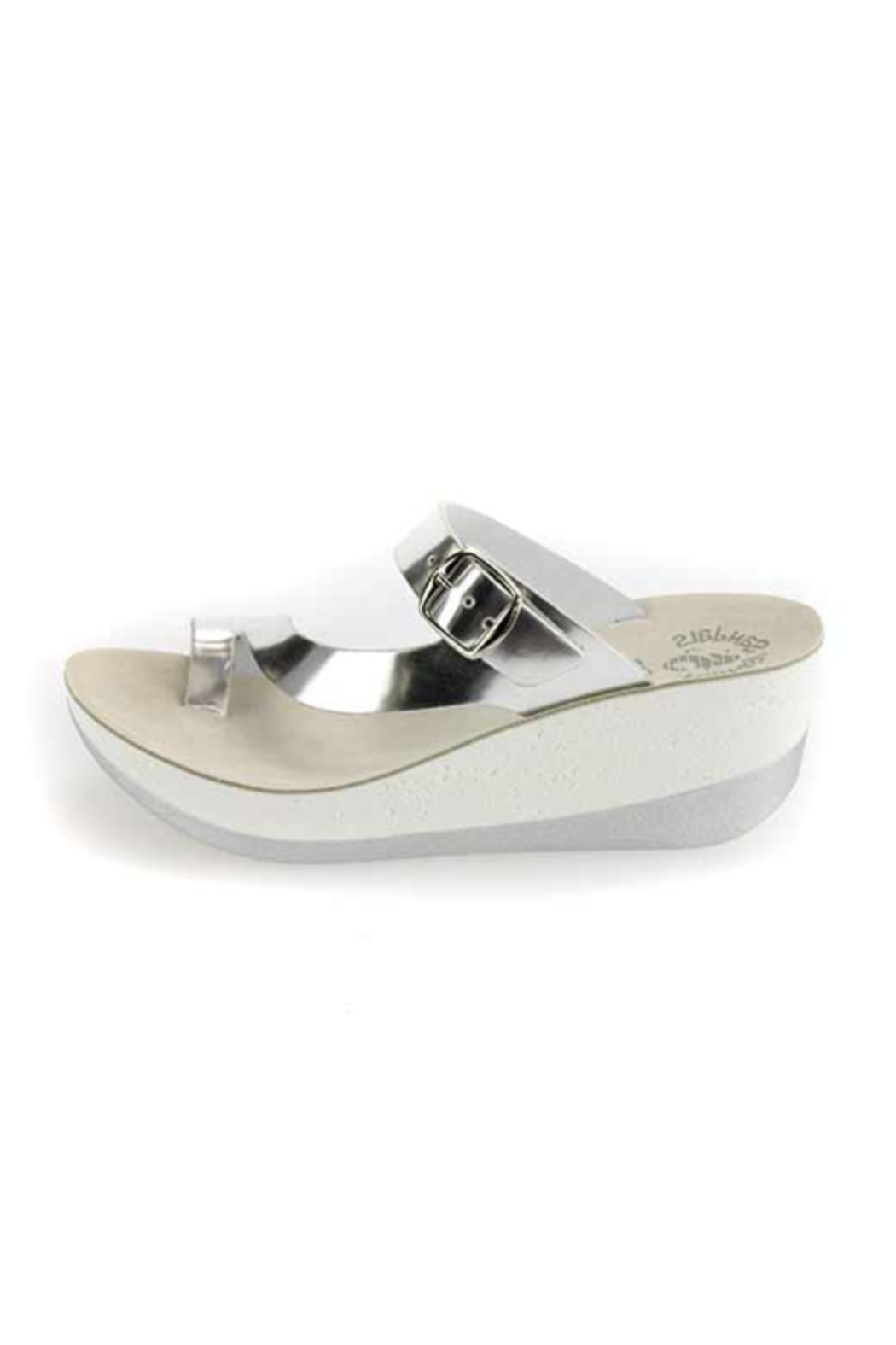 Sole Mio Felisa Wedge Sandal - Front Full Image