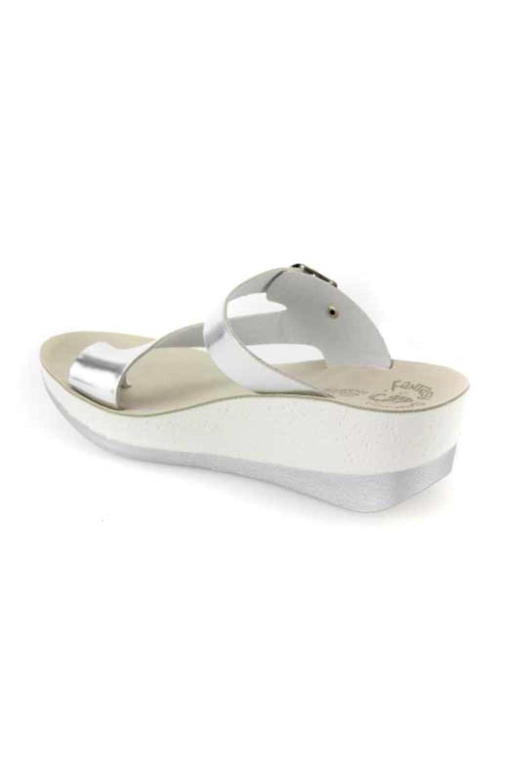 Sole Mio Felisa Wedge Sandal - Side Cropped Image