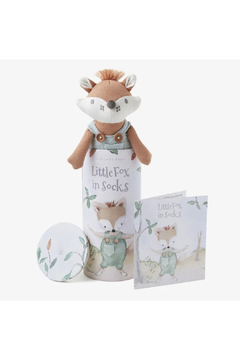 Elegant Baby Felix the Fox Knit Toy w/ Book - Product List Image