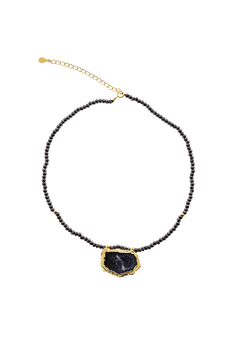 Shoptiques Product: Geode & Bead Chain Choker