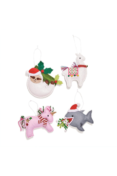 Two's Company Felt Ornaments - Alternate List Image