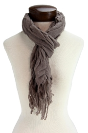 IAN SAUDE Felted Wool Scarf - Front cropped