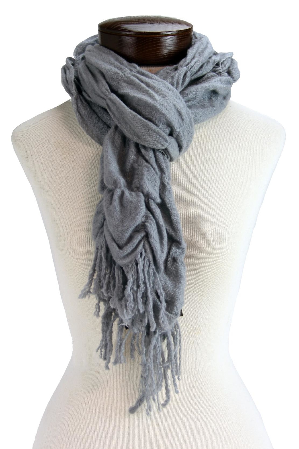 IAN SAUDE Felted Wool Scarf - Front Cropped Image