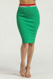 Rehab Feminist Green Skirt - Product Mini Image
