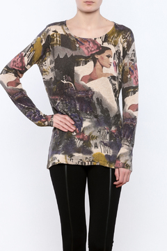Shoptiques Product: Printed Pullover Sweater