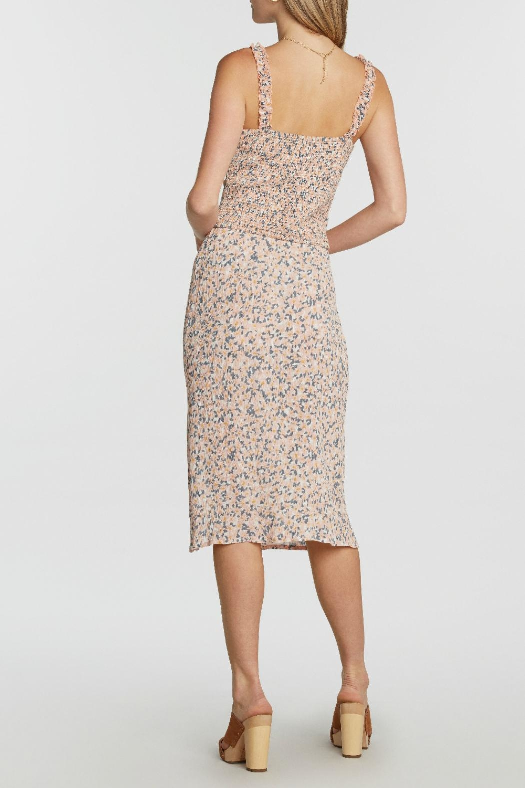 Patrons of Peace Femme Floral Midi - Side Cropped Image