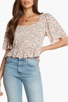 Patrons of Peace Femme Floral Top - Product List Image