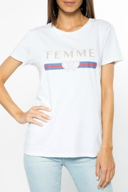 CHRLDR Femme Graphic T-Shirt - Front cropped