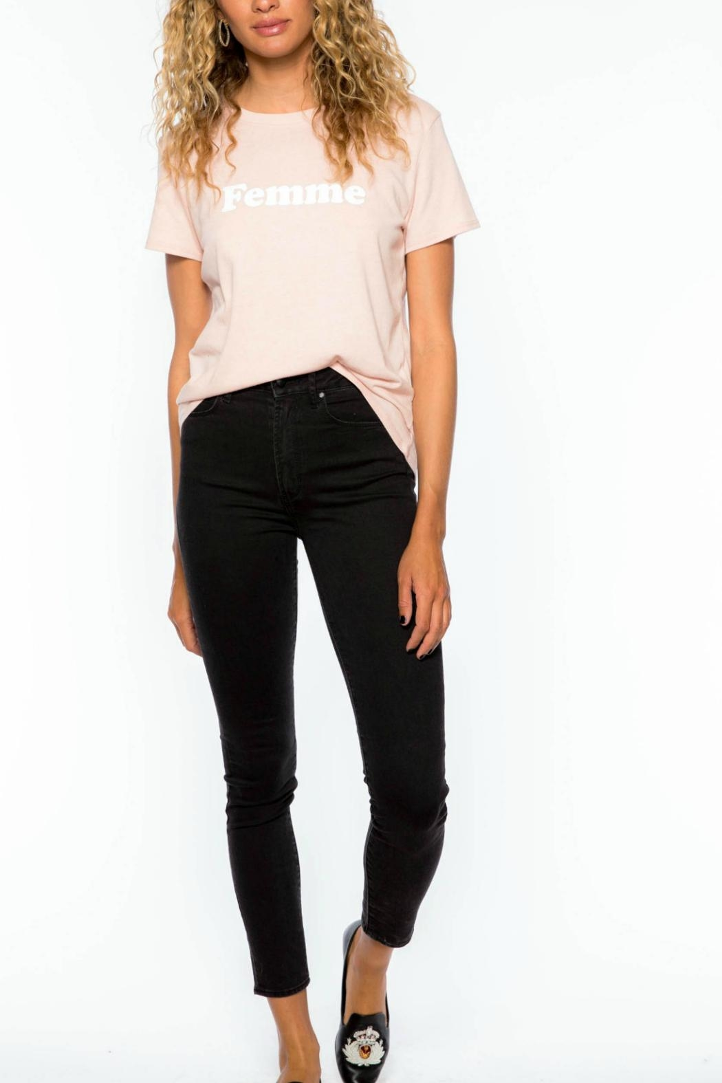 Suburban riot Femme Loose Tee - Front Full Image