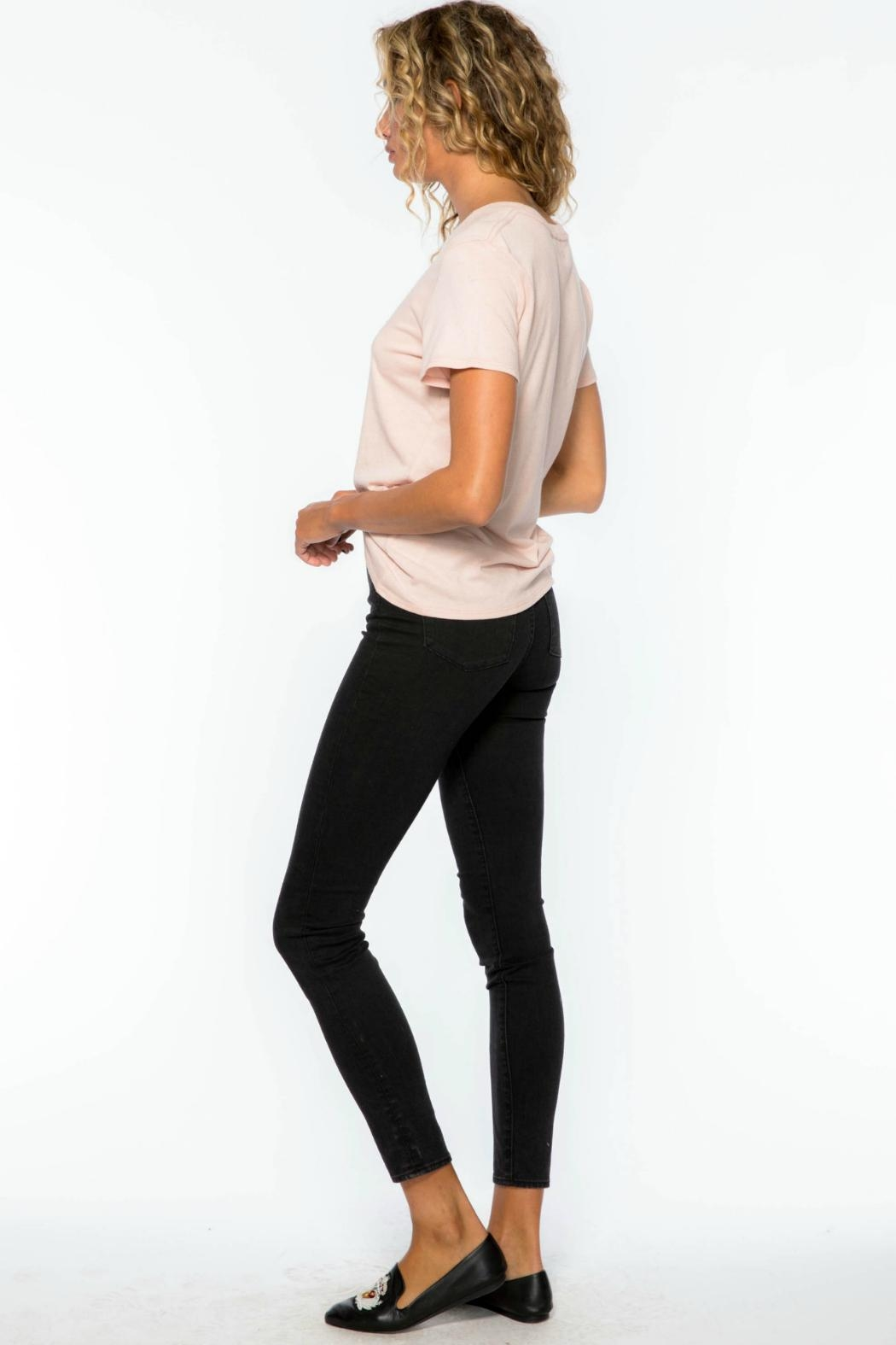 Suburban riot Femme Loose Tee - Side Cropped Image