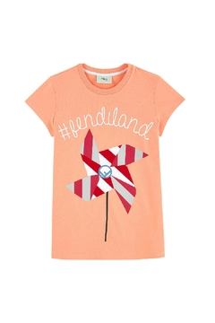 Shoptiques Product: Fendiland Print T Shirt