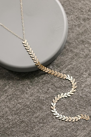 Sarah Briggs Fergie Long Fishtail Necklace - Product Mini Image