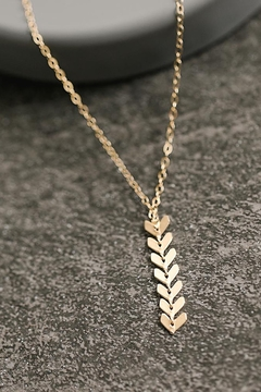 Sarah Briggs Fergie Small Fishtail Necklace - Product List Image