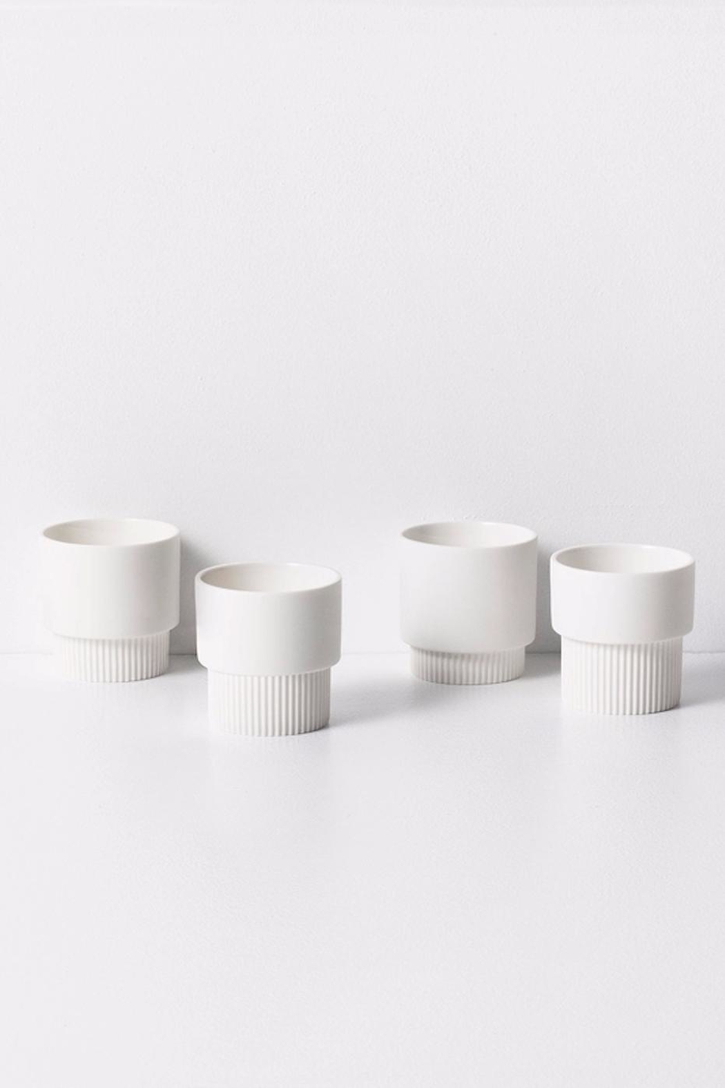 Ferm Living Groove Espresso Cups - Main Image
