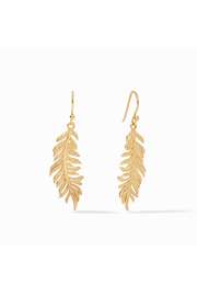 Julie Vos FERN EARRINGS-GOLD - Product Mini Image