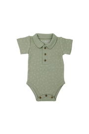 L'oved baby Fern Polo Onesie - Product Mini Image