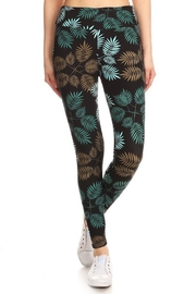 LEGGINGS MANIA Fern Print Legging - Product Mini Image