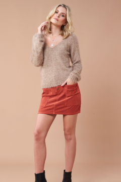 MinkPink Fernanda Fuzzy Sweater - Alternate List Image