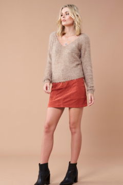 MinkPink Fernanda Fuzzy Sweater - Product List Image