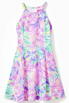 Lilly Pulitzer Girls Fernanda Halter Dress - Product List Image