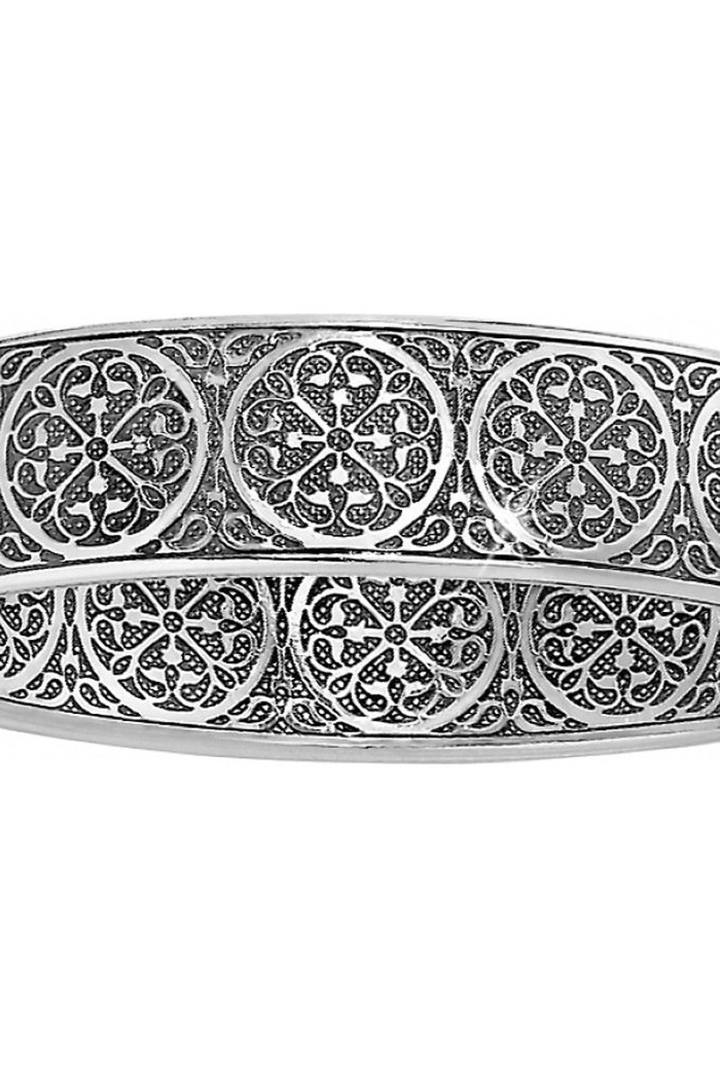 Brighton Ferrara Thin Hinged Bangle - Front Cropped Image