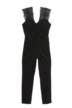 Shoptiques Product:  Lace Jumpsuit