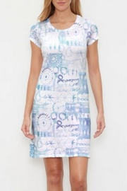 Whimsy Rose Ferris Wheel Classic Crew Dress - Product Mini Image