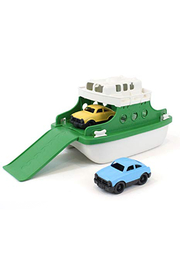 Green Toys Ferry Boat Green - Front cropped