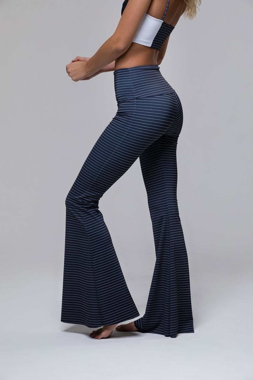 Onzie Festival Bell Pant - Back Cropped Image