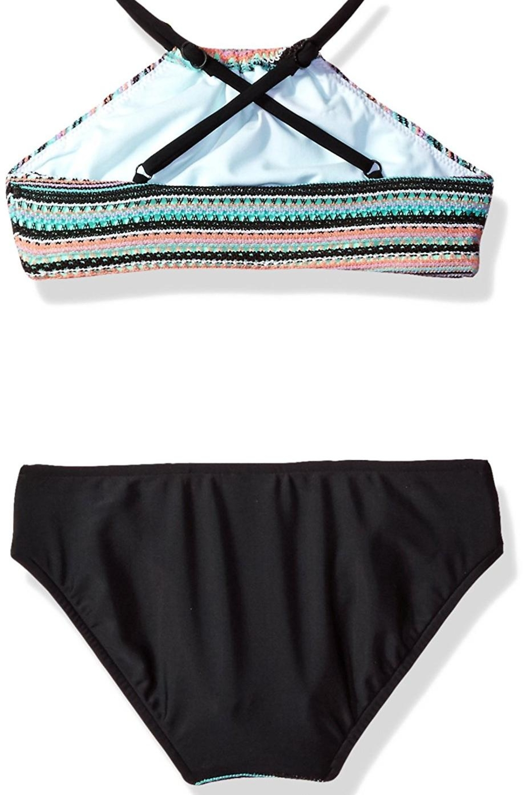 Seafolly Swimwear Festival Surf-Stripe Tankini-Set - Front Full Image
