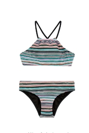 Seafolly Swimwear Festival Surf-Stripe Tankini-Set - Front cropped