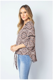 Simply Noelle Festival Tie Top - Product Mini Image