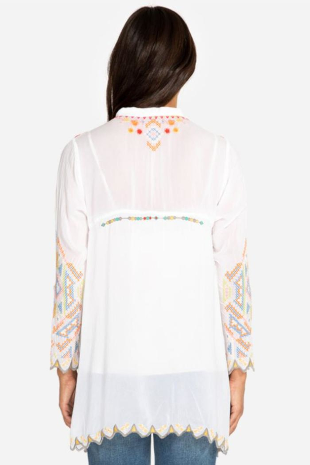 Johnny Was Festival Tunic - Front Full Image
