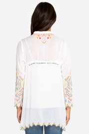 Johnny Was Festival Tunic - Front full body