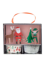 Meri Meri  Festive Christmas Cupcake Kit - Product Mini Image