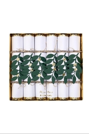Meri Meri Festive Foliage Medium Crackers - Product Mini Image