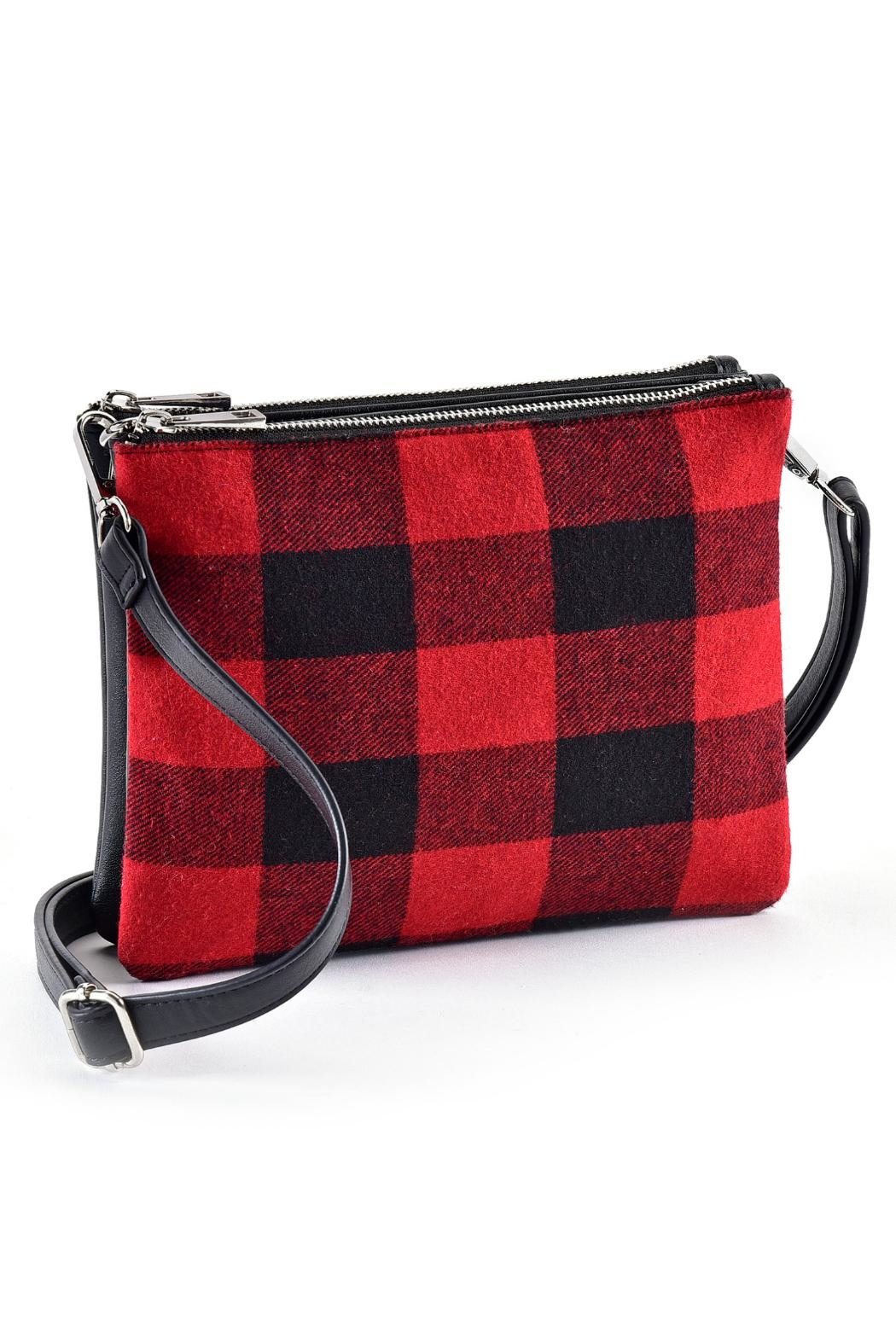 Charlie Paige Festive Plaid Crossbody - Main Image