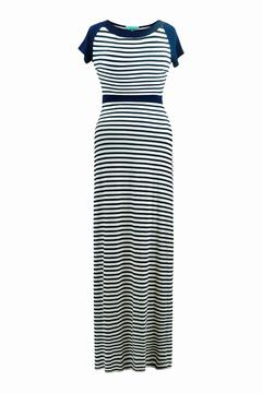 Fever Navy Stripe Maxi - Product List Image