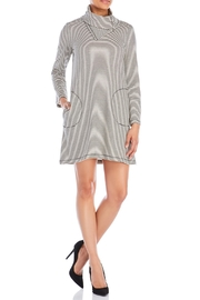 Fever Funnel Neck Dress - Front cropped