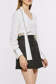 Few Moda Suede Button Skirt - Product Mini Image