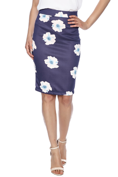 FewModa Floral Pencil Skirt - Product List Image