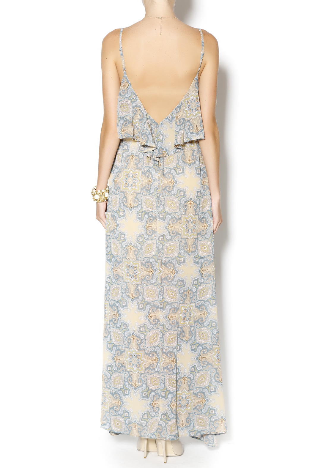 Ya Los Angeles Maxi Dress - Side Cropped Image