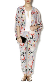 Eight Sixty Floral Kimono - Front full body
