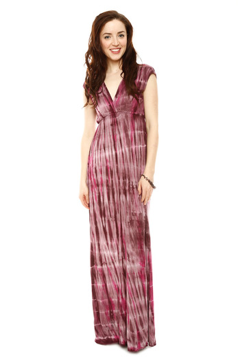 Girlfriends Tie Dye Maxi Dress From Arizona By Girlfriends