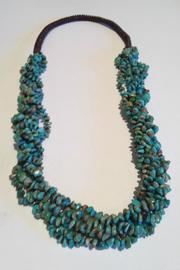 Turquoise Multi-Strand Necklace - Product Mini Image