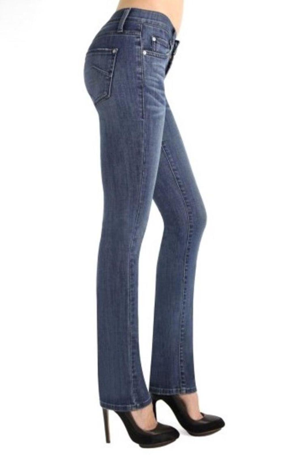 James Jeans High Rise Straight - Side Cropped Image