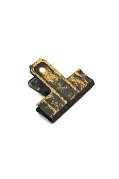 Fiddleheads Home & Garden Black Gold Wall Clip - Alternate List Image