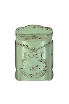 Fiddleheads Home & Garden Tin Mailbox - Product List Image